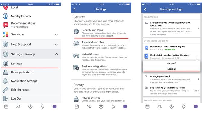 Jak wylogować się z Messengera na Androidzie i iOS 2