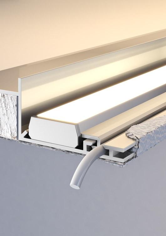 Montaż profil LED NISA-KRA 12